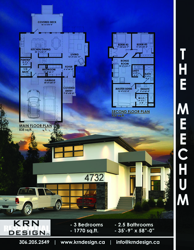 The Meechum – 1770 SqFt