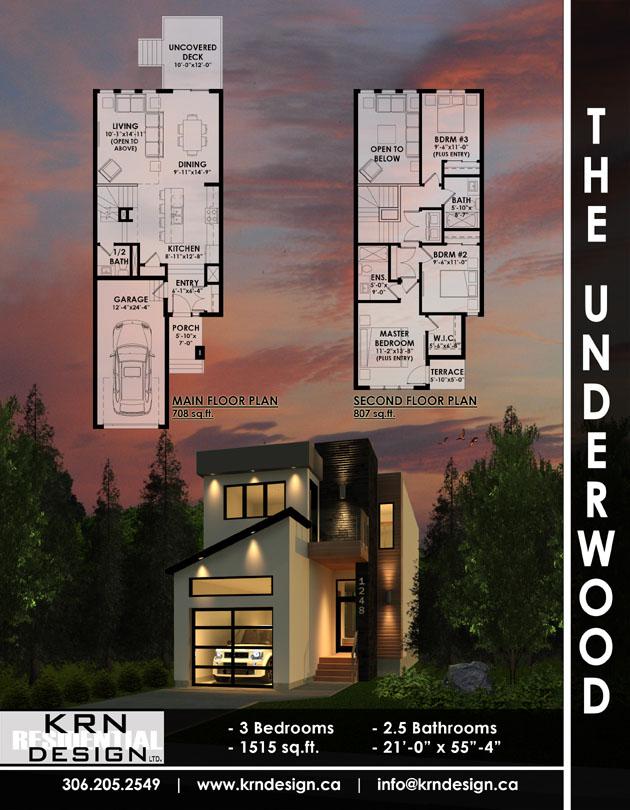 The Underwood – 1515 SqFt