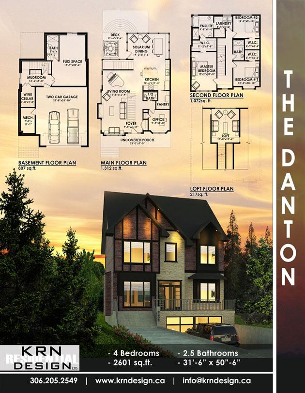 The Danton – 2601 SqFt