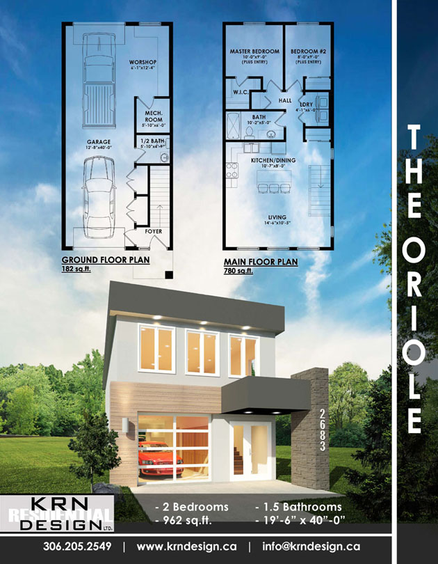 The Oriole – 962 SqFt