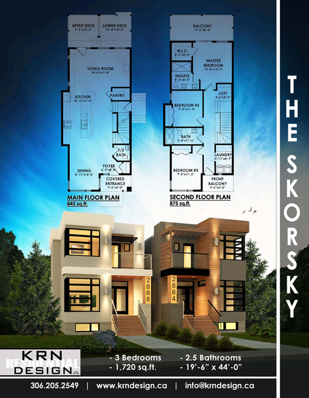 The Skorsky – 1720 SqFt
